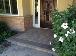 Hardscape transformation for this family home (Thousand Oaks)