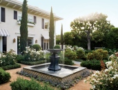 Elegant Italian Garden in Los Angeles, CA